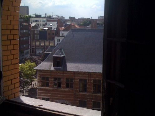 06-07-2010  Room (studio) with a view. Antwerp