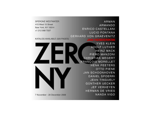 Zero in New York